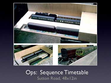 Sequence Timetable