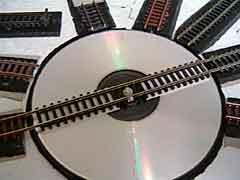 CD Turntable Shelf