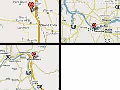 Coal Transfer Facility Maps