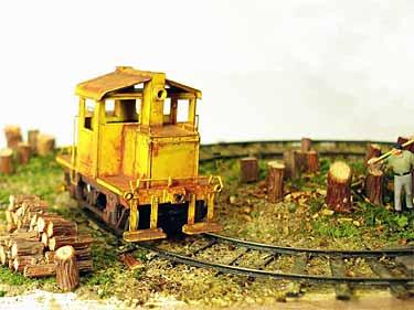 Firewood Mound Railway