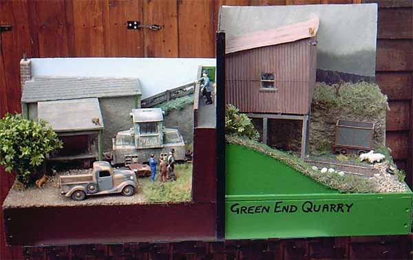 Green End Quarry Overview
