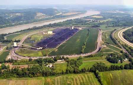 Ohio Rail to Barge Transfer