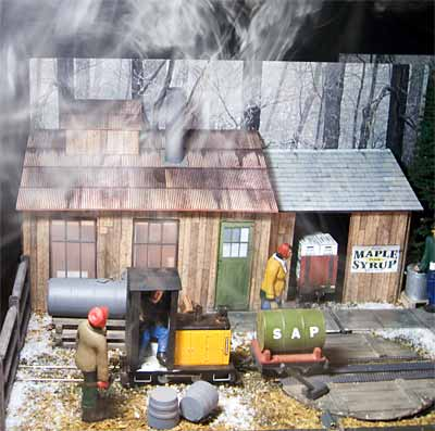 Maple sugar house layout