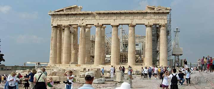 Rails on the Acropolis