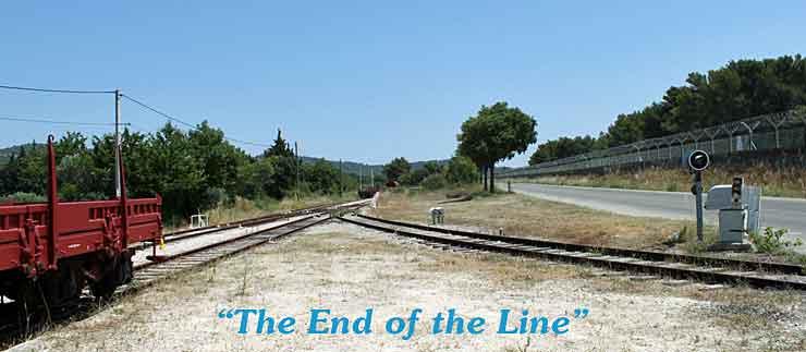 Short-line terminus