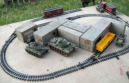 Army Training Train