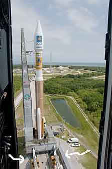 Atlas missile launch pad