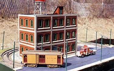 Dick Bell's O scale layout