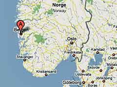 Bergen Map