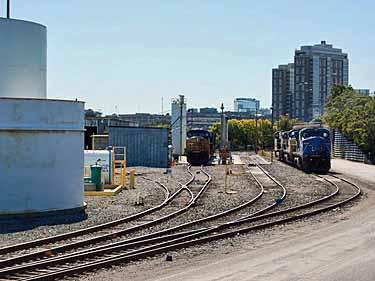 Boston Central Yard Loop
