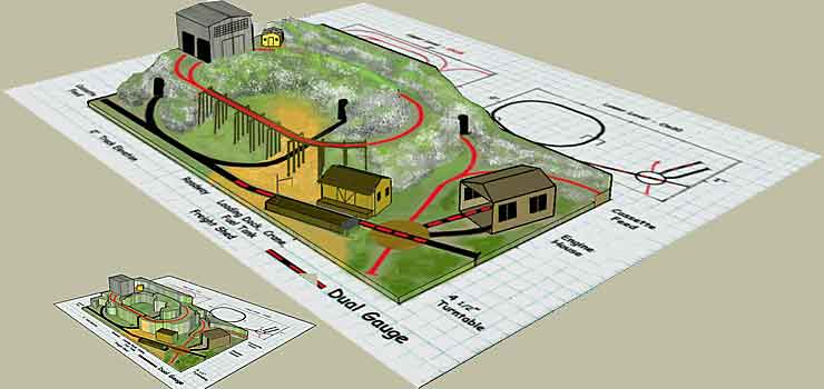 Sketchup version of layout