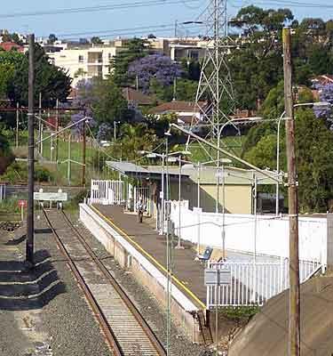 Carllingford Station in Sydney