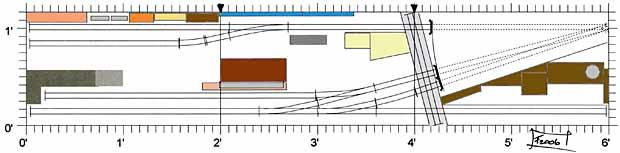 Cascade  Yard plan
