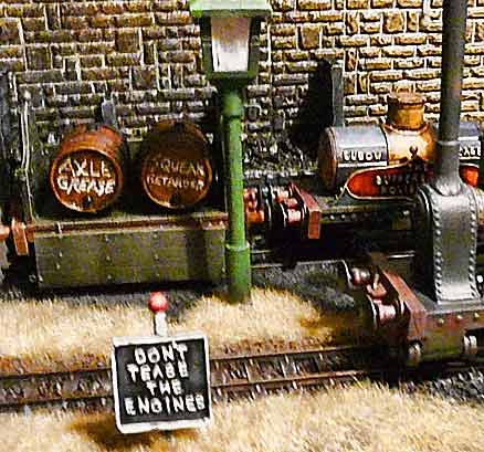 Chipping Clinker Engine Shed