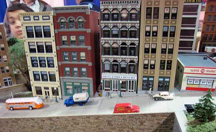 City Classics layout