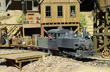 Coffee Creek Mining RR