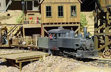 Coffee Creek Mining RR