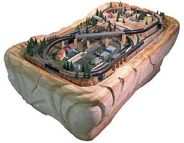 N Coffee Table Railroad