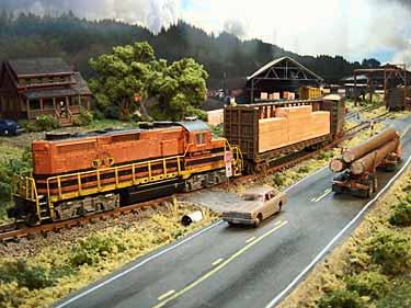 Dawson sawmill layout