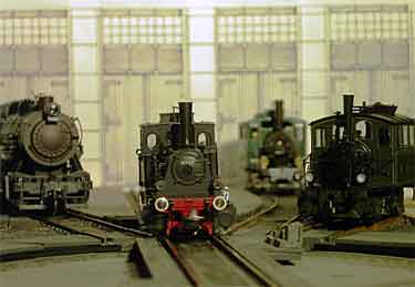 Finnegan loco display