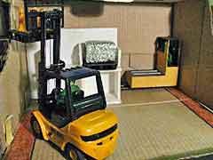 Forklift + Tram