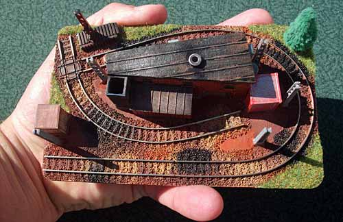 Z Scale layout