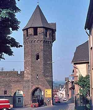 Brausbach city gate