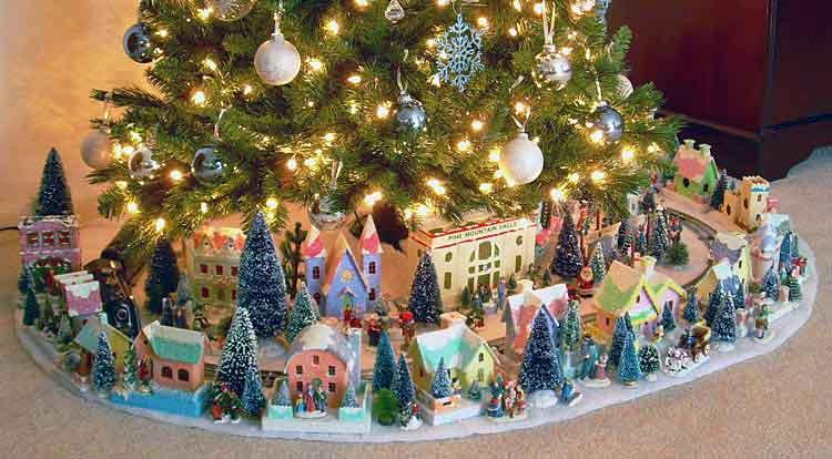 Howard Lamey's glitter houses