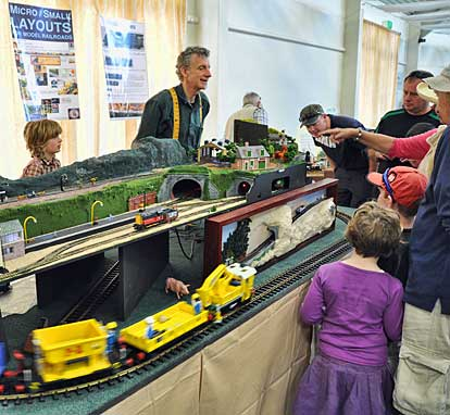 Hamilton NZ model railway show