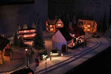 Winter trolley layout