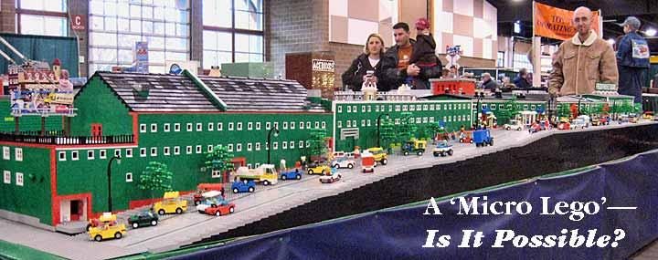 Lego Micro Layout