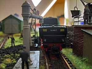 German loco depot