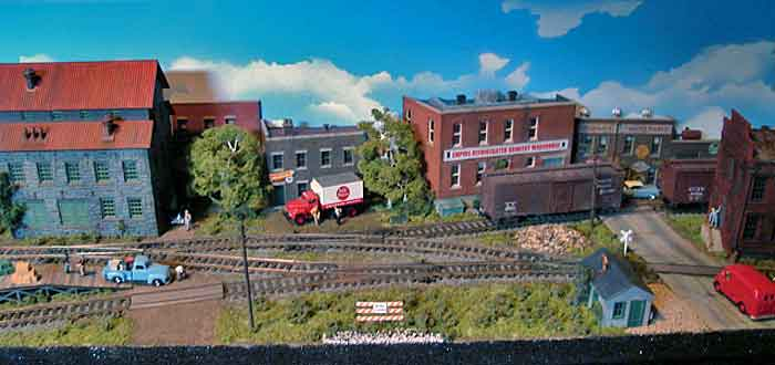Mill Street - Four Wyes Layout