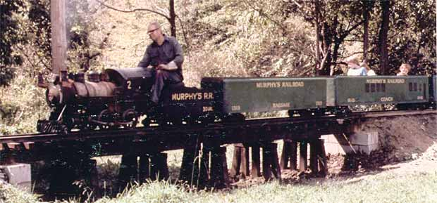 Murphy's RR in steam