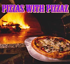 Pizzas with Pizzaz