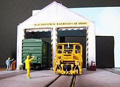 Carnegie Car Shops HO Layout