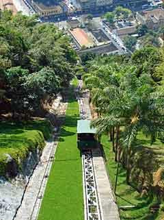 Santos Brazil funicular