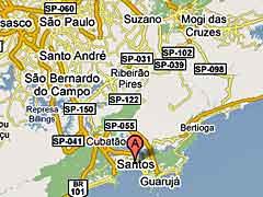 Santos Map
