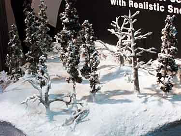 Woodland Scenics display