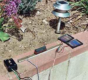Solar Power Experiment
