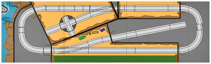 Submarine Base Layout Plan
