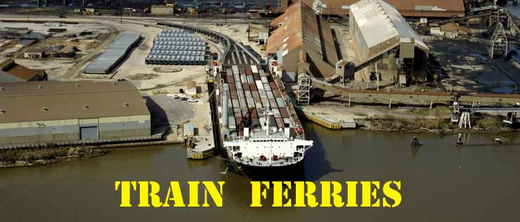 TRAIN FERRIES