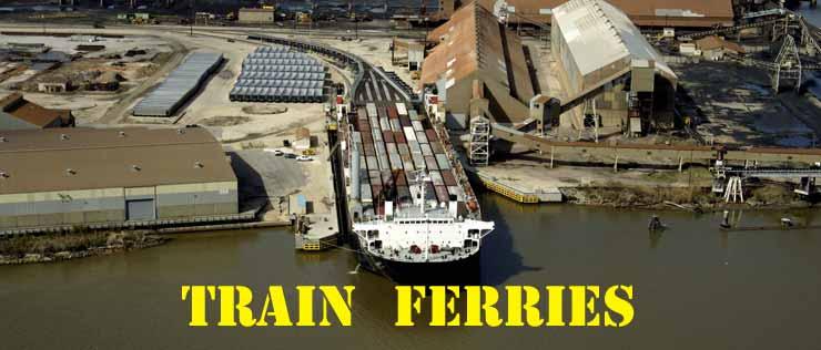 TRAIN FERRIES