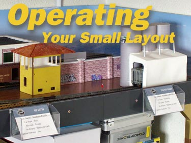 OPERATING YOUR SMALL LAYOUT