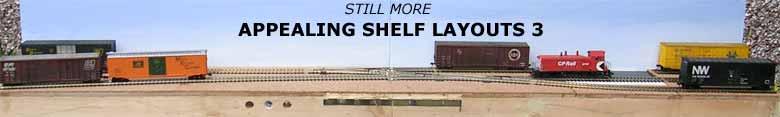 APPEALING SHELF LAYOUTS 3