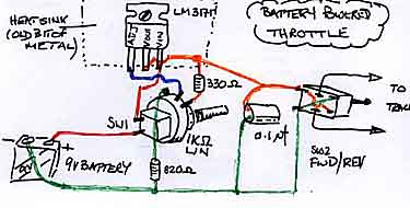 Battery controller schematic