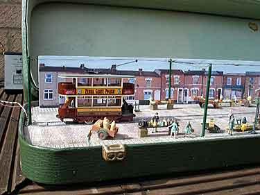 trolley in a knitting case