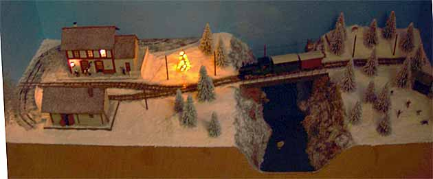 Christmas tree layout